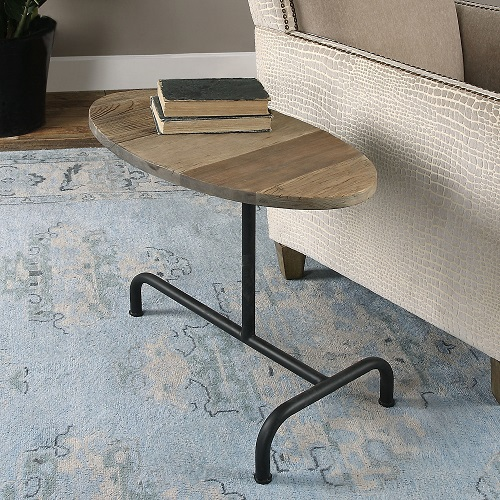 Martez Industrial Accent Table 24531 from Uttermost
