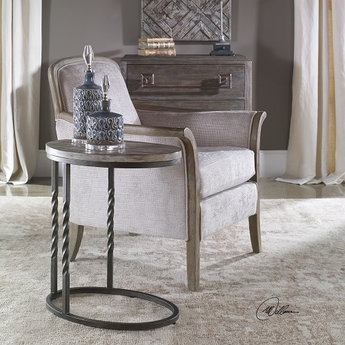 Tauret Cantilever Side Table 25320 from Uttermost