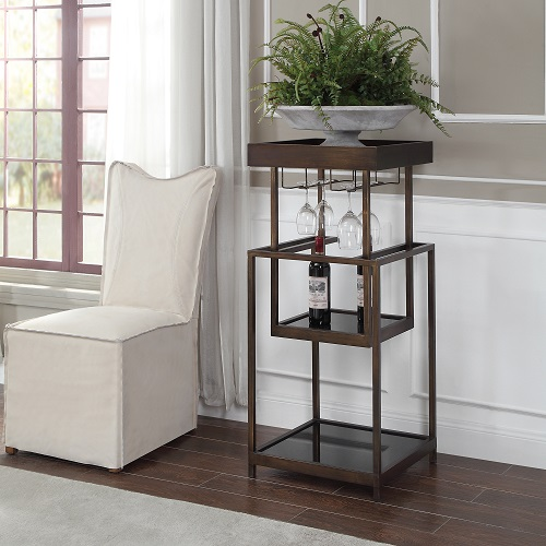 Aida Mid-Century Bar Stand 24903 from Uttermost