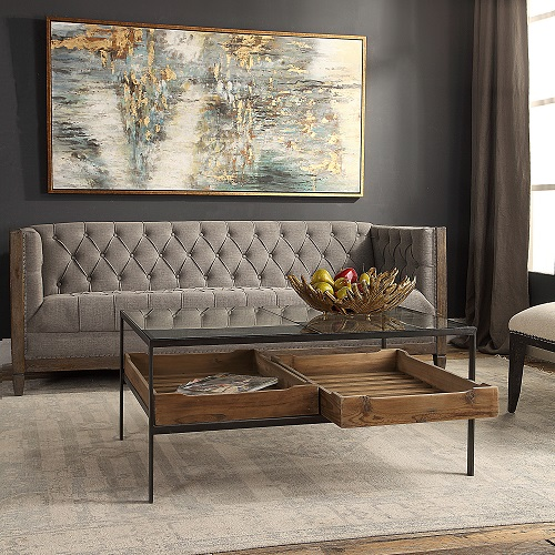 Silas Coffee Table 24855 from Uttermost