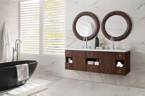 "Sonoma 60"" Double Bathroom Vanity in Coffee Oak 860-V60D-CFO from James Martin Furniture"