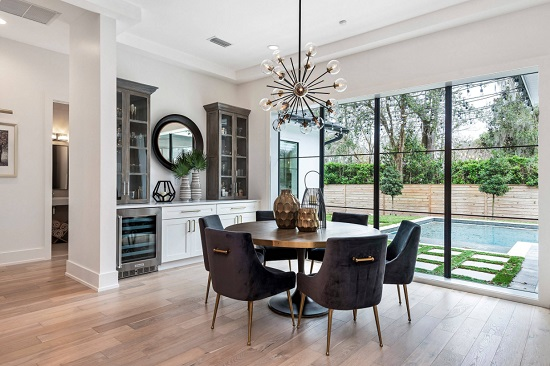 Six Ways To Rock A Round Dining Table, Big Round Dining Room Tables
