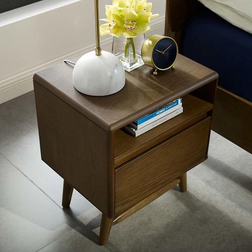 Talwyn Wood Nightstand in Chestnut MOD-6065-CHN from Modway Furniture