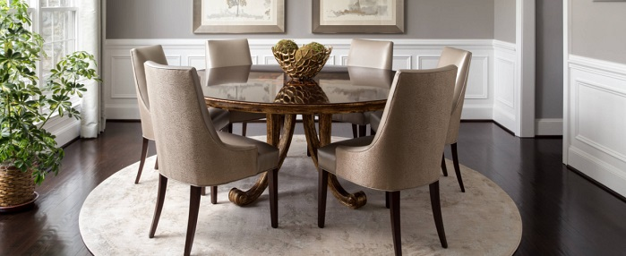 Six Ways To Rock A Round Dining Table, Circle Dining Room Table