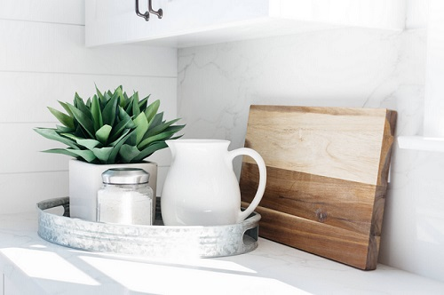 A good cutting board should be more than merely functional - it should also feel like a decorative element of your kitchen (by Madison Modern Home)