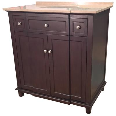 Best deal b i direct preston 34 single sink bathroom - Preston hardware bathroom vanities ...