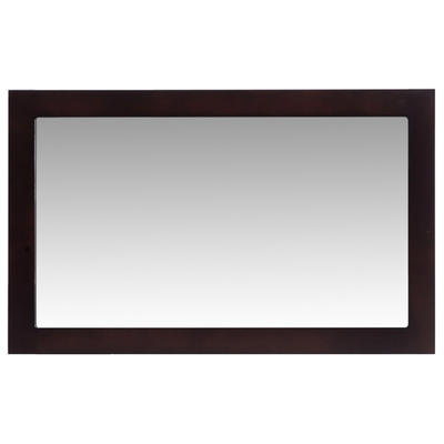 Laviva 313ff 4830e Bathroom Mirrors Laviva Fully Framed 48 Espresso Mirror 313ff 4830e